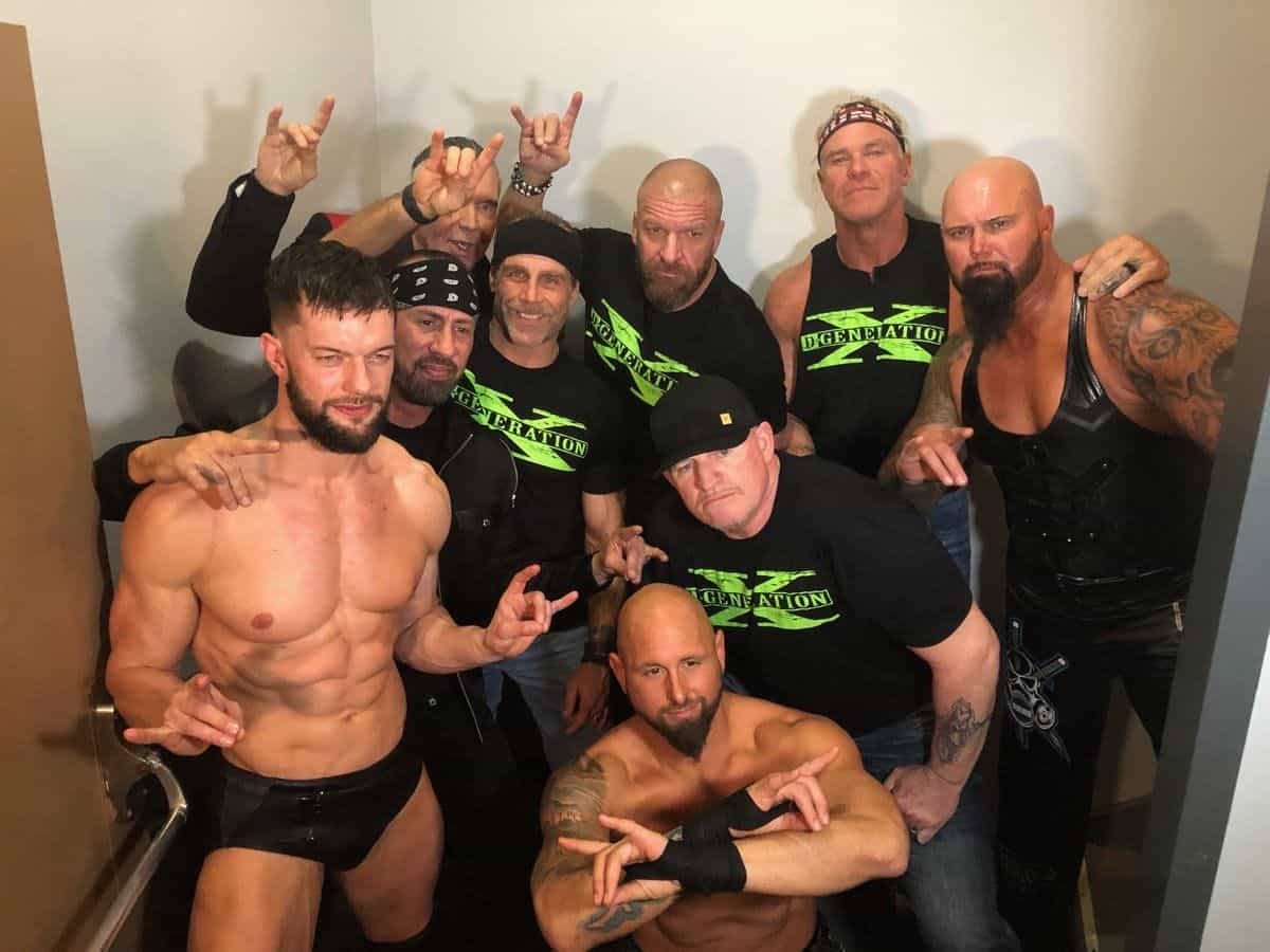 'Too Sweet' - A hand gesture made popular by The Kliq in the mid-90s and brought back to prominence by the Bullet Club