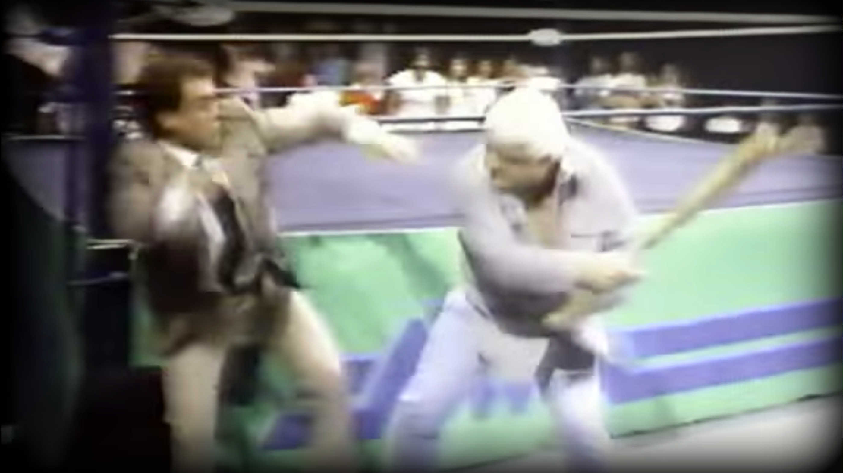 Magnum TA had just come back from a near-fatal car accident when he made some comments about Tully Blanchard. Blanchard came out and sucker punched Magnum, which caused Dusty Rhodes to come out with a baseball bat and beat Blanchard to near death on live television.