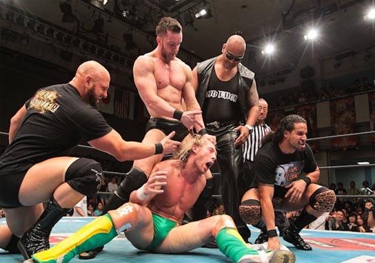 Bullet Club annihilate their future leader Kenny Omega