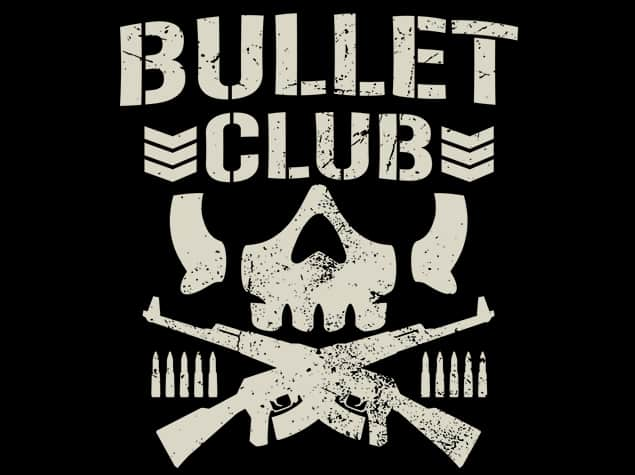 """The Bullet Club """"Bone Soldier"""" logo has become one of the most recognizable images in the history of professional wrestling"""