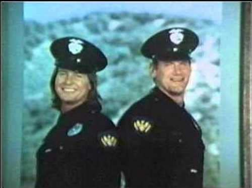 Roddy Piper and Jesse 'The Body' Ventura in the TV Show Tag Team