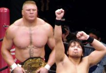 Brock Lesnar and Shinsuke Nakamura - Their Bitter Real-Life Battle