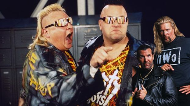 The Shoot Fight Between The Nasty Boys, Scott Hall and Kevin Nash