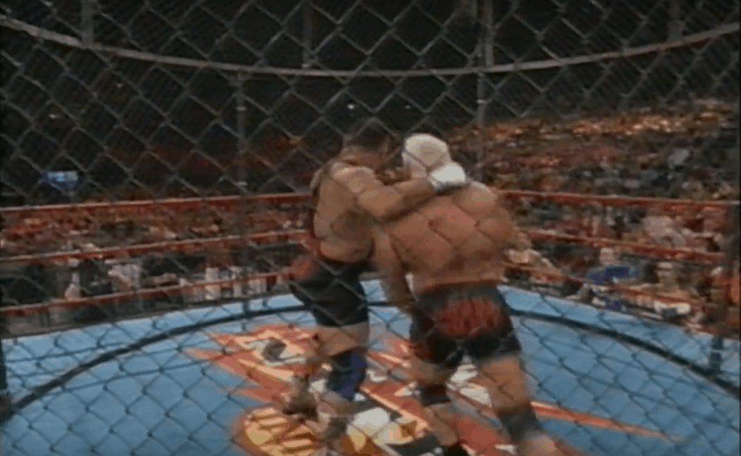 Big Poppa Pump Scott Steiner vs. UFC legend Tank Abbott in a WCW Asylum Steel Cage match