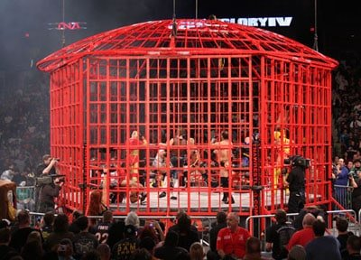 TNA's Steel Asylum, an offset of the Dome Steel Cage.