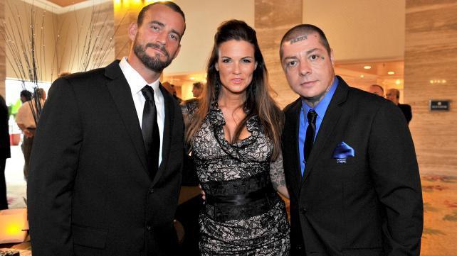 CM Punk, Lita, Rancid singer Lars Frederiksen