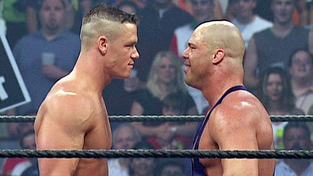 Kurt Angle shares his thoughts on John Cena around the time he debuted with the company