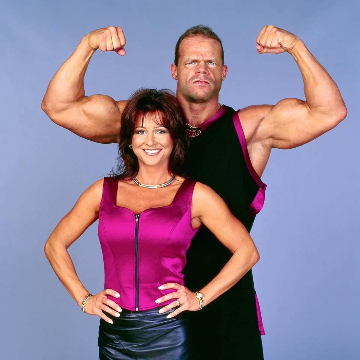 Miss Elizabeth and Lex Luger