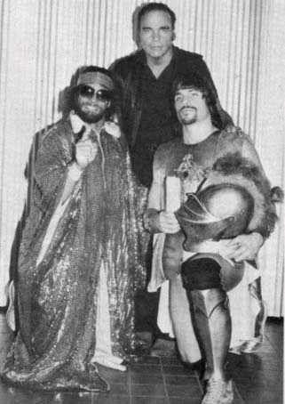 The Poffo Family: Randy, Angelo, and Lanny