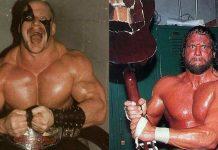 Randy Savage and Road Warrior Hawk   Their Real-Life Heat