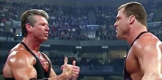 Kurt Angle and Vince McMahon   Their Infamous Airplane Fight