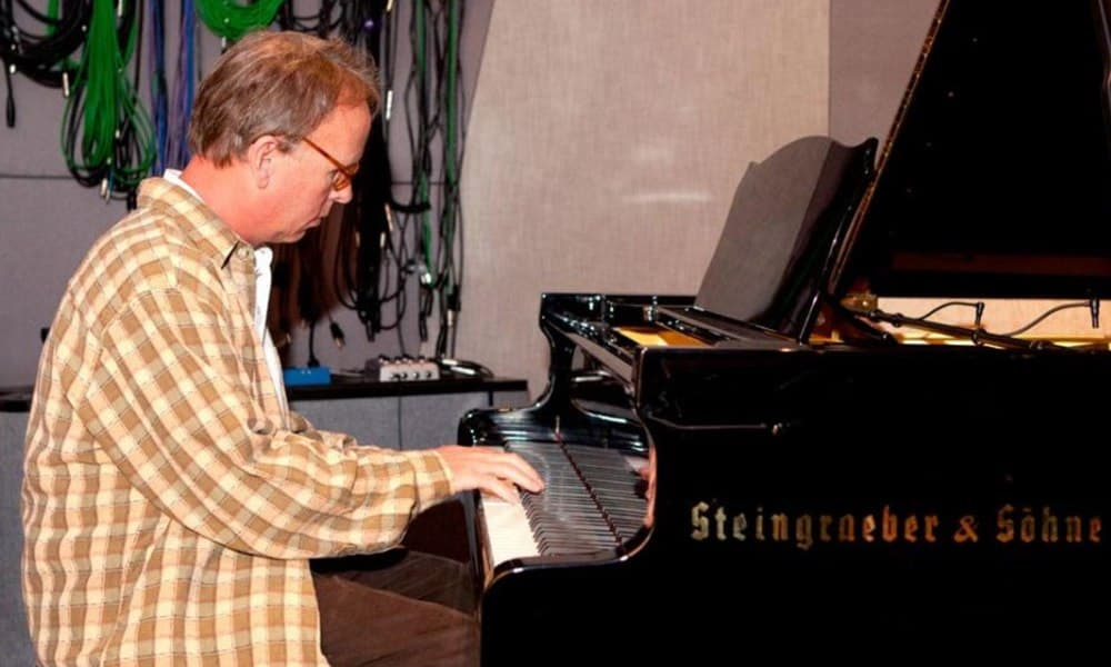 Jim Johnston, seen here playing piano, was a jack of all trades when it came to music.