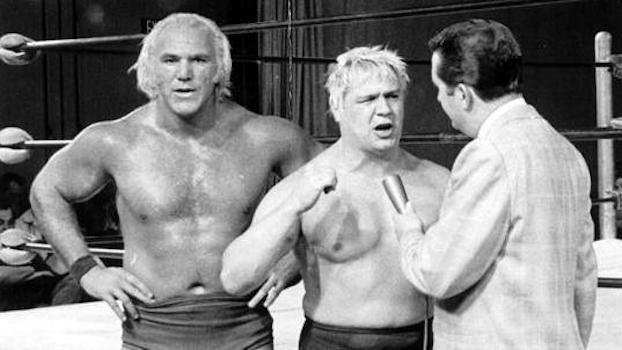 Billy Graham and Pat Patterson [Photo Copyright - Viktor Berry]