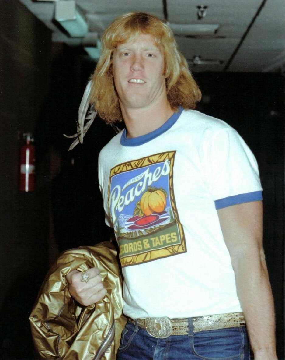 David Von Erich was being groomed to become the next NWA champion before sadly passing away under suspicious circumstances in Japan in 1984