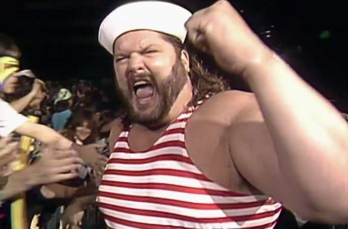 Fred Ottman as Tugboat in the WWF