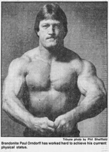 From Brandon, Florida to the squared circle in the WWF, Paul Orndorff's athletic prowess and physique wowed and impressed.