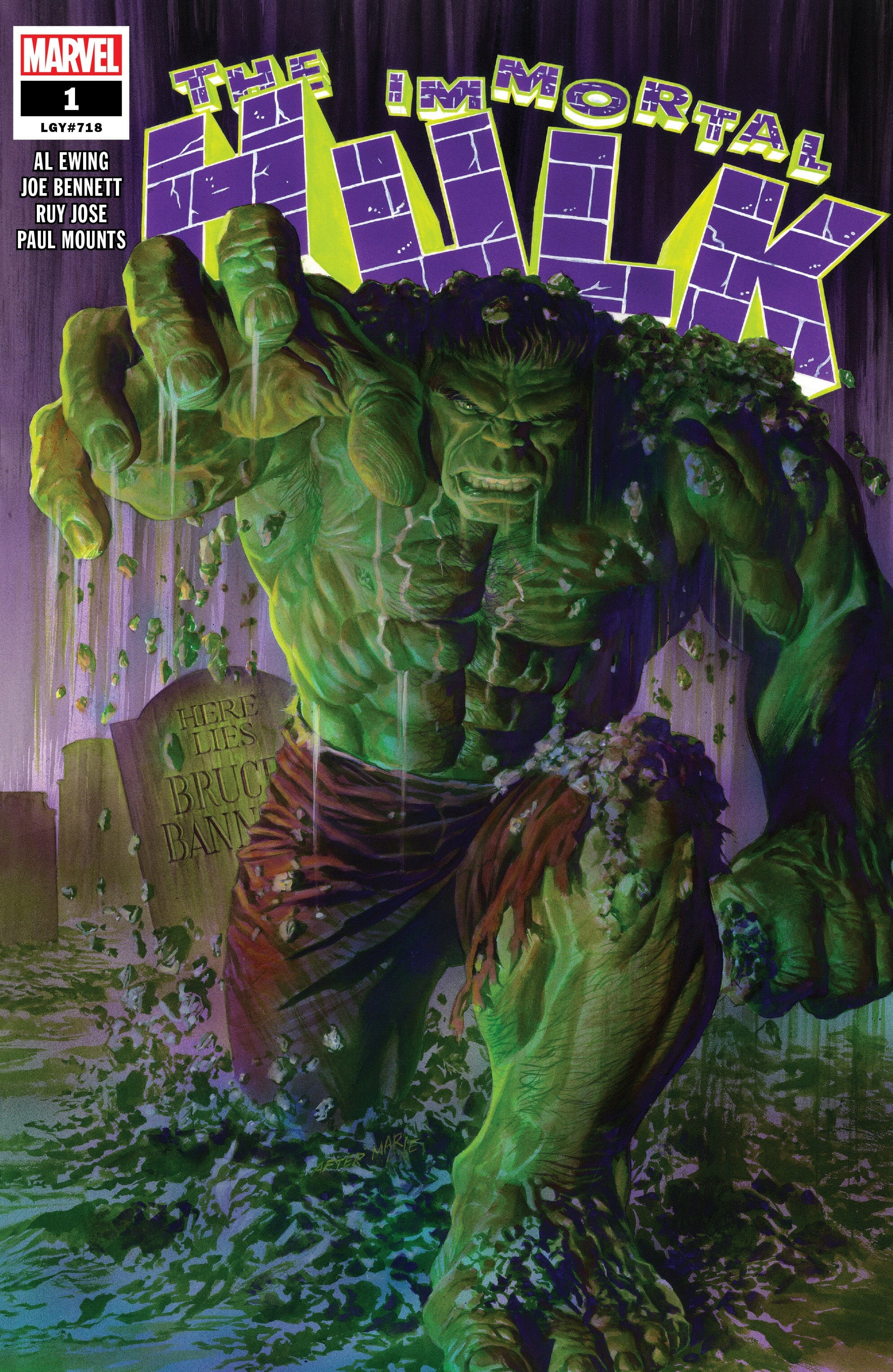 To bring things full circle, In 2018, Marvel released a comic series entitled The Immortal Hulk, 34-years after Hulk Hogan used the same name. Coincidence? We think not!