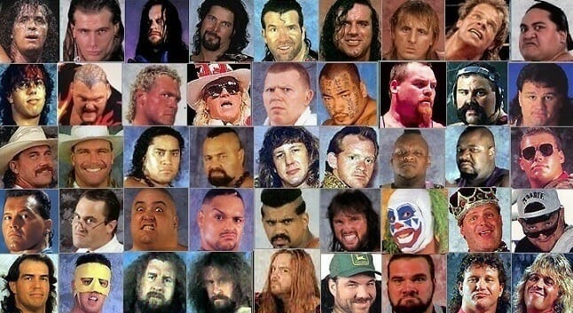 'The New Generation Era' - WWF's roster in 1995.
