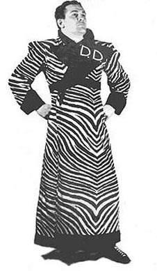 Dizzy Davis, perhaps the very first exotico in Lucha Libre