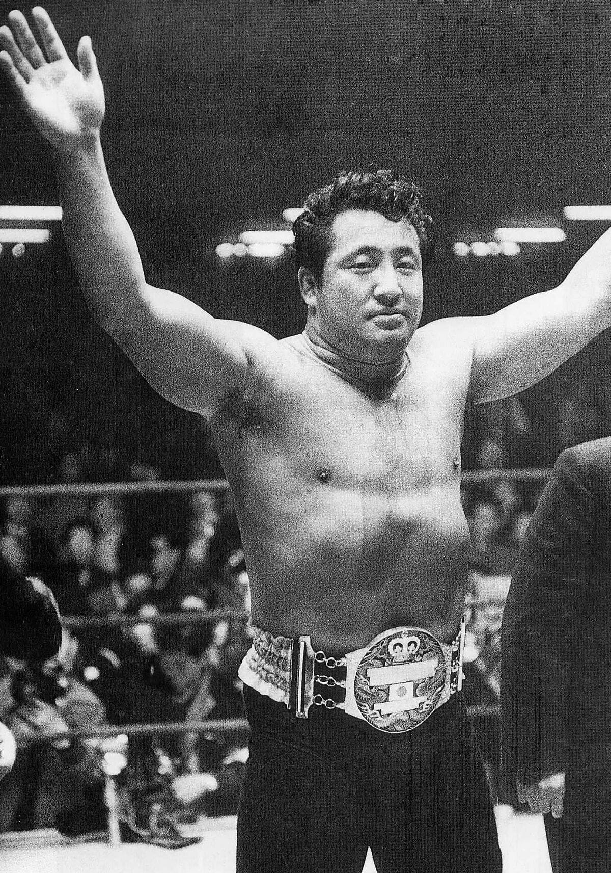 Rikidōzan was a Korean Japanese professional wrestler known as The Father of Puroresu and one of the most influential men in professional wrestling history. Sadly, Sadly, he would die on December 8, 1963 after being stabbed by Katsushi Murata, a member of the ninkyō dantai Sumiyoshi-ikka, a sub branch of the yakuza (Japanese mafia).