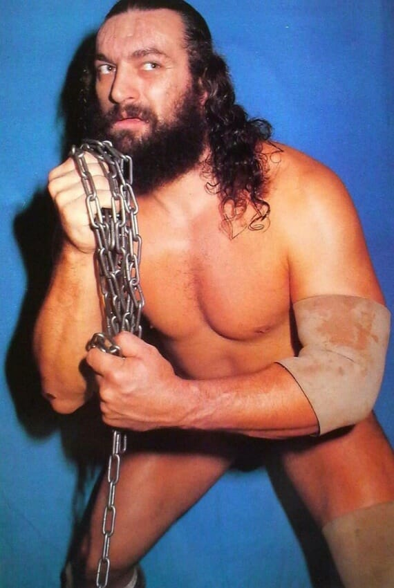 Bruiser Brody (Then King Brody in the AWA) caught the attention of Leon White while studying AWA wrestling on Saturday mornings.