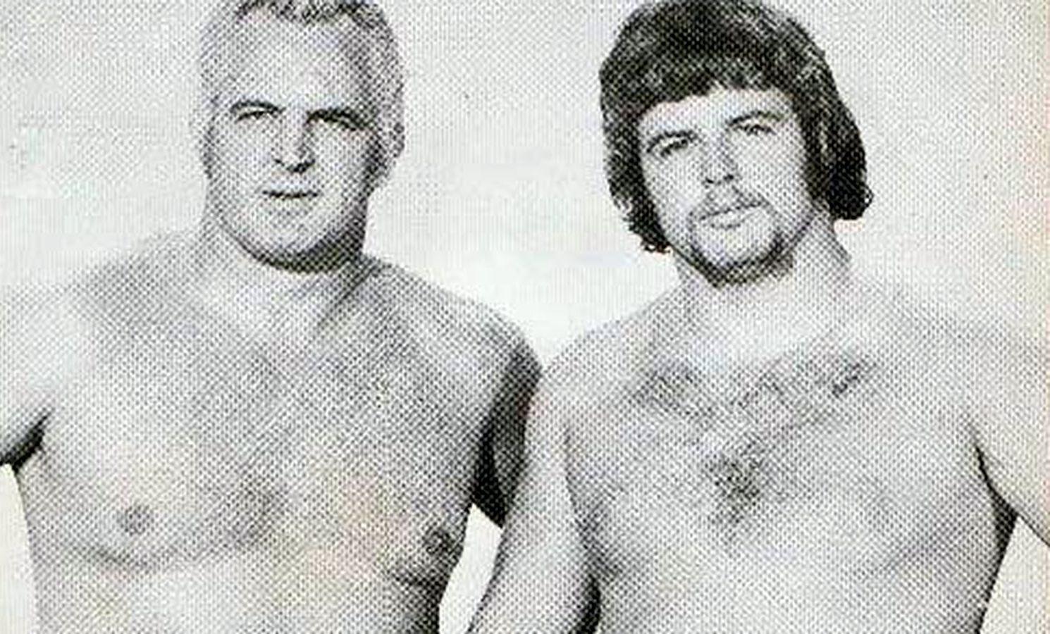Eddie and Mike Graham