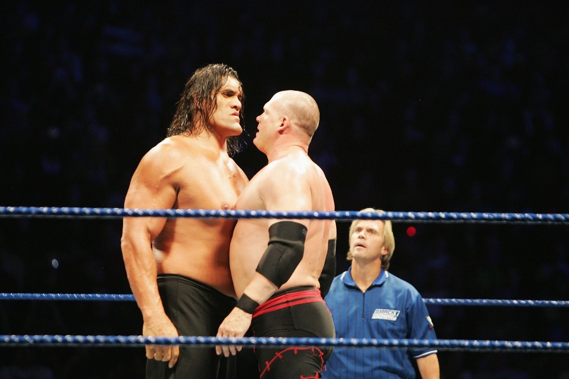The Great Khali at a solid 7'0