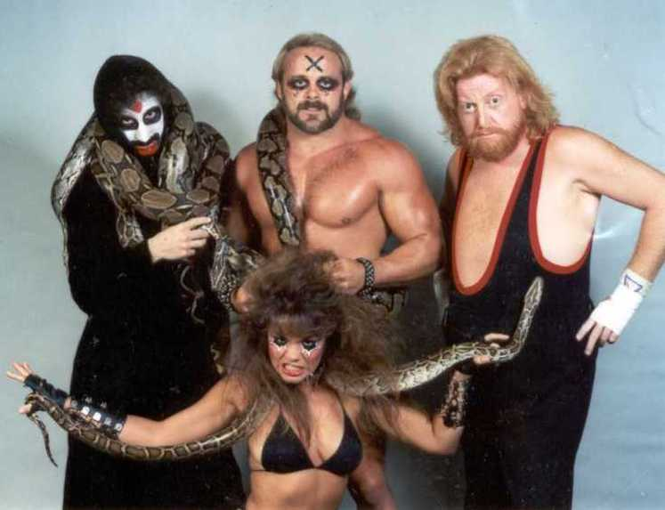 The Army of Darkness - Abudadein, 'The Prince of Darkness' Kevin Sullivan, Sir Oliver Humperdink, and The Fallen Angel