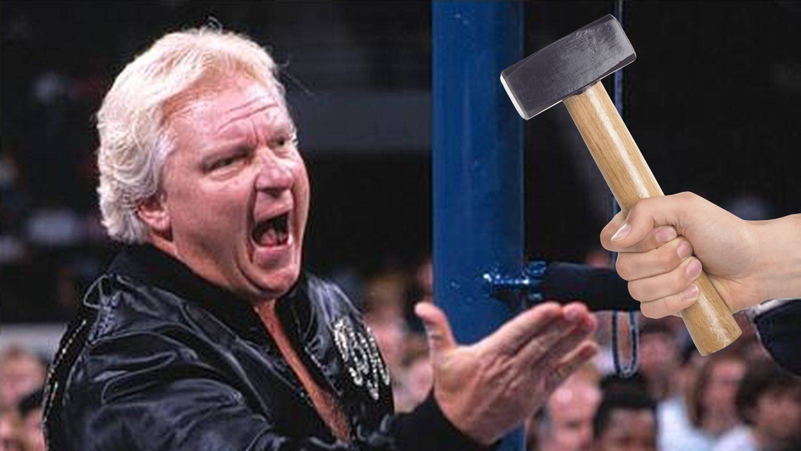 Bobby Heenan shares the story of the time he was hit in the head with a ball-peen hammer.