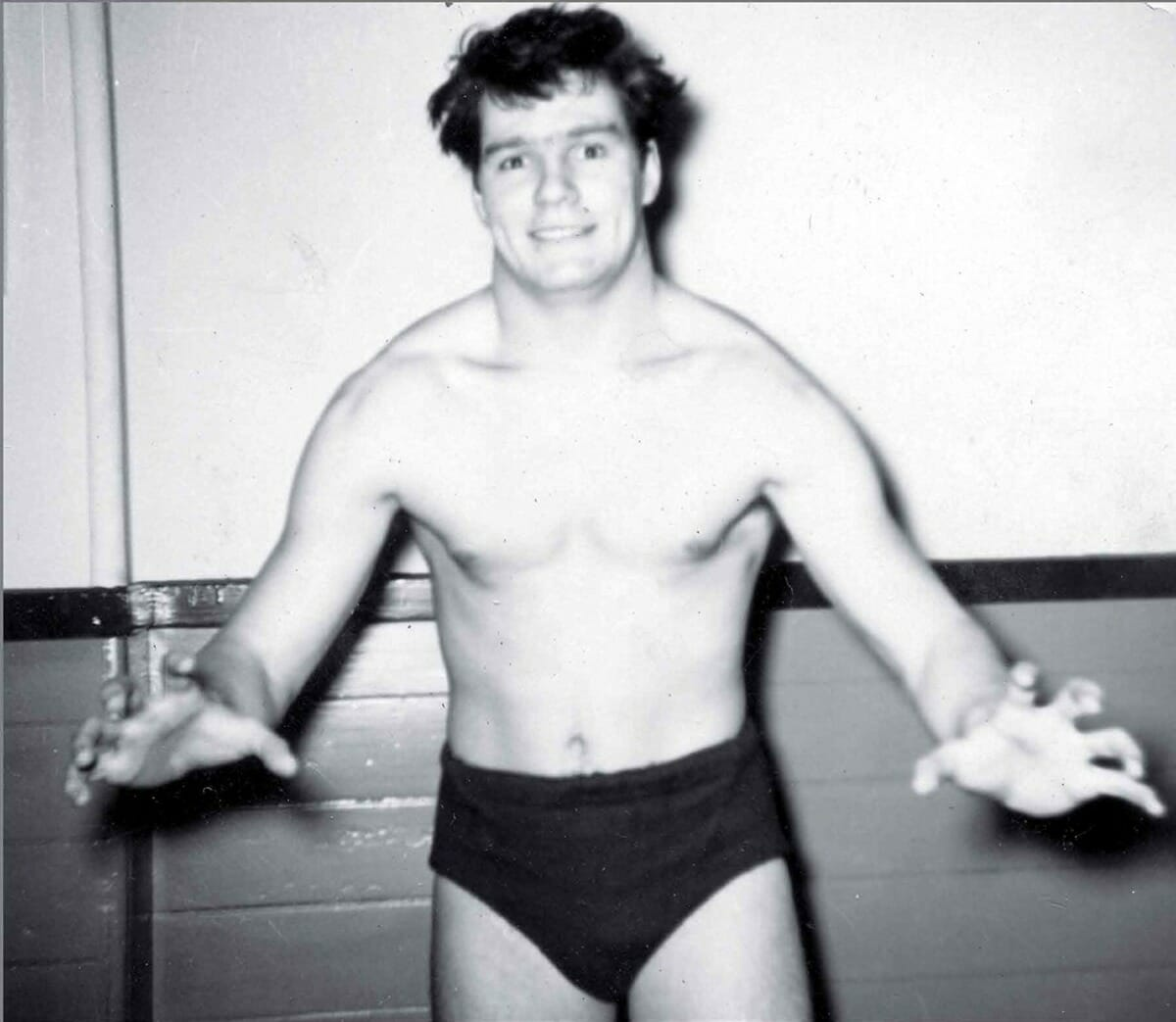 The earliest Pat Patterson wrestling picture on record. [Source: Accepted: How the First Gay Superstar Changed WWE]