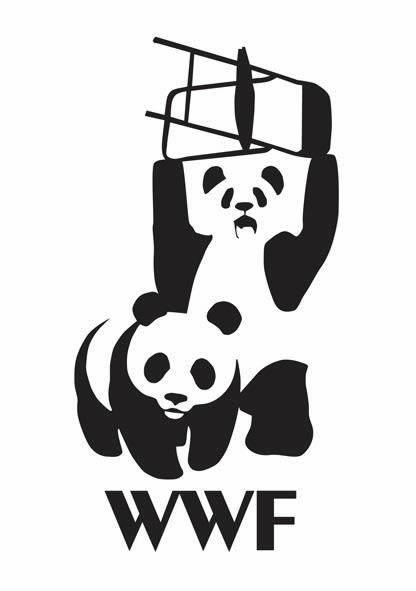 WWF a panda about to slam a chair onto another panda