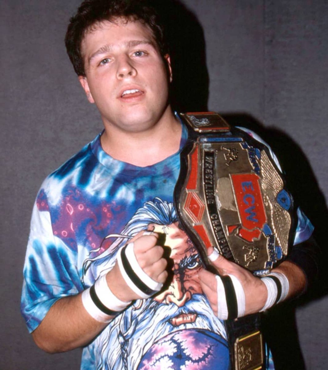 Mickey Whipwreck was the ultimate underdog and his ECW World Heavyweight Championship is a testament to his inner drive and fight.