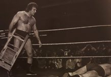 The heel turn and chair shots heard around the world. Fans are stunned by Larry Zbyszko and his merciless treatment of his mentor and friend, Bruno Sammartino.