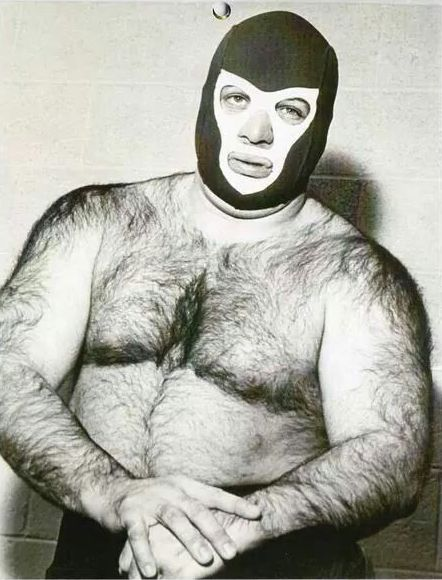 Early in his career, George Steele, a school teacher, donned a mask and wrestled as The Student.