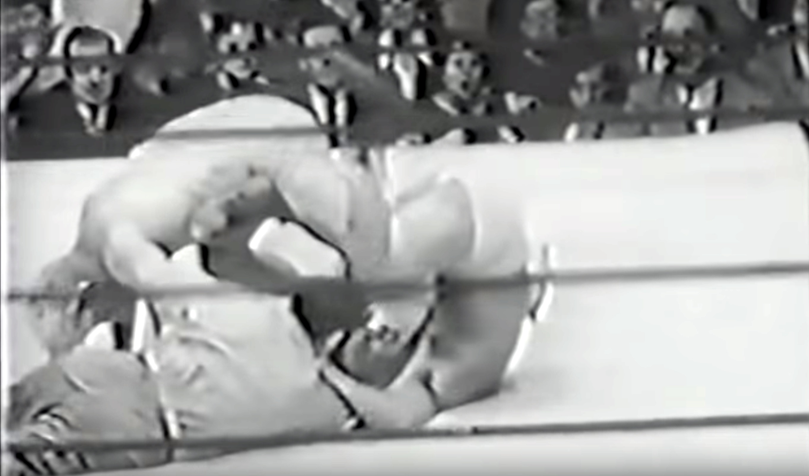 """The notorious """"Chicago Short Count"""" screwjob - a name many fans call the match between Gorgeous George and Chief Don Eagle from May 26th, 1950 at Chicago's International Amphitheater."""