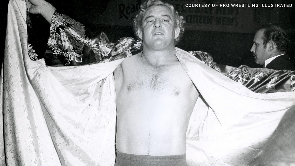 Early in his career, Jack Donovan had to make sure Gorgeous George made his bookings and arrived sober to his matches. [Photo: Pro Wrestling Illustrated]