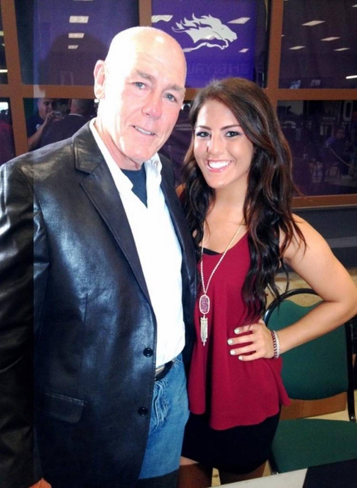 Tully Blanchard with his daughter, Impact Wrestling star Tessa Blanchard