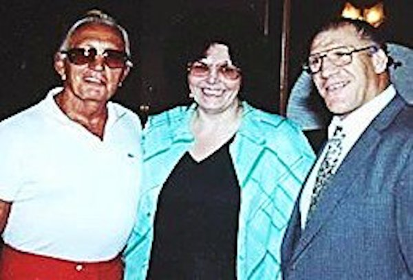Georgiann Makropoulos was the only person ever to get Bruno Sammartino and Buddy Rogers to pose together, as they hated each other. She was the head of both their fan clubs.