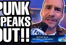 CM Punk WWE Backstage Debut - Here's What He Had to Say! [Photo: Wrestling Daze on YouTube]