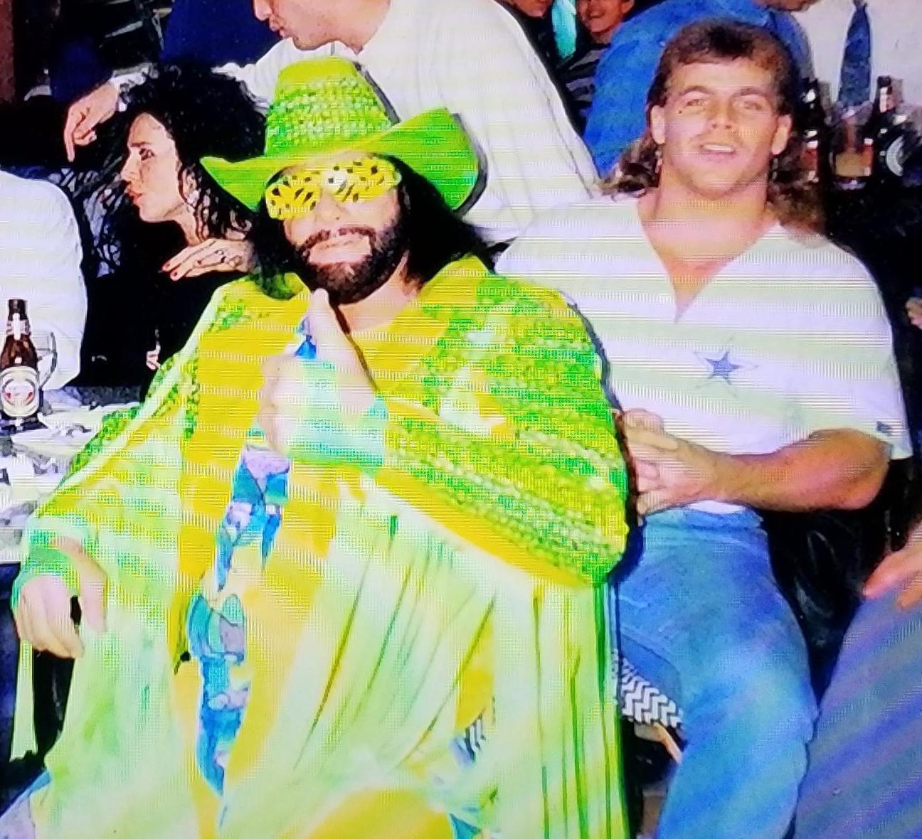 Randy Savage and Shawn Michaels - A feud denied.