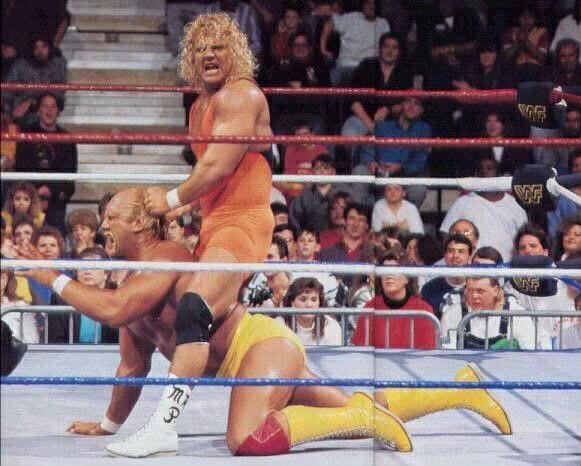 Mr. Perfect Curt Hennig and Hulk Hogan, two men I owe my career to.