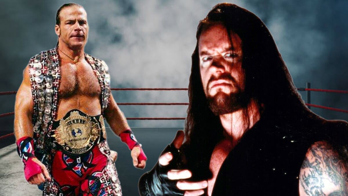 The Undertaker and Shawn Michaels Backstage Fight That Almost Was