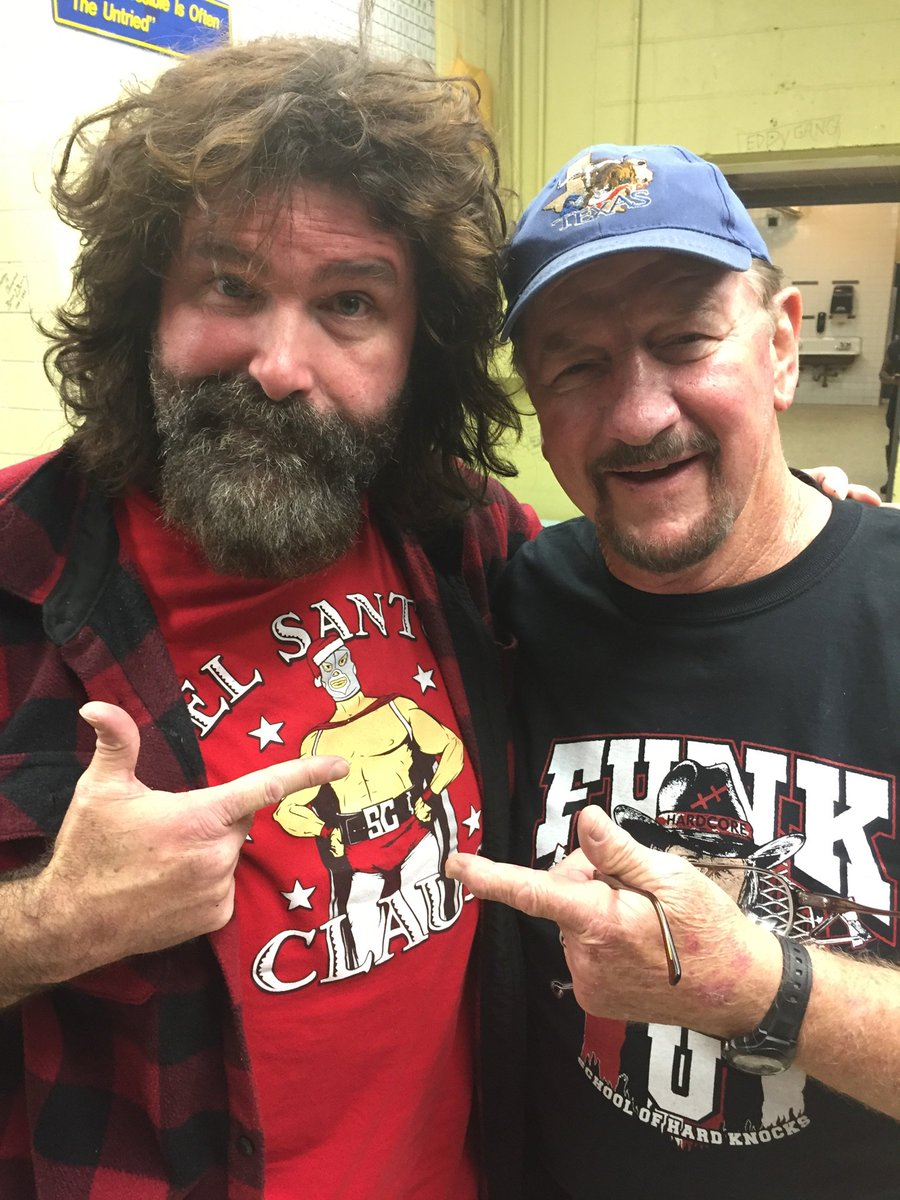 Mick Foley and Terry Funk respect each other and the wrestling business.