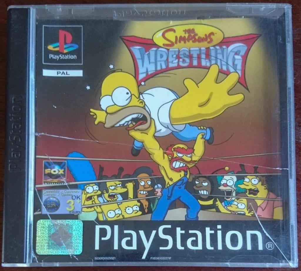 The Simpsons Wrestling Video Game | Nostalgic Wrestling Photos