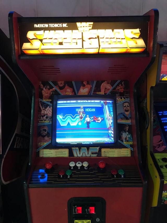 WWF Superstars Arcade Game | Nostalgic Wrestling Photos
