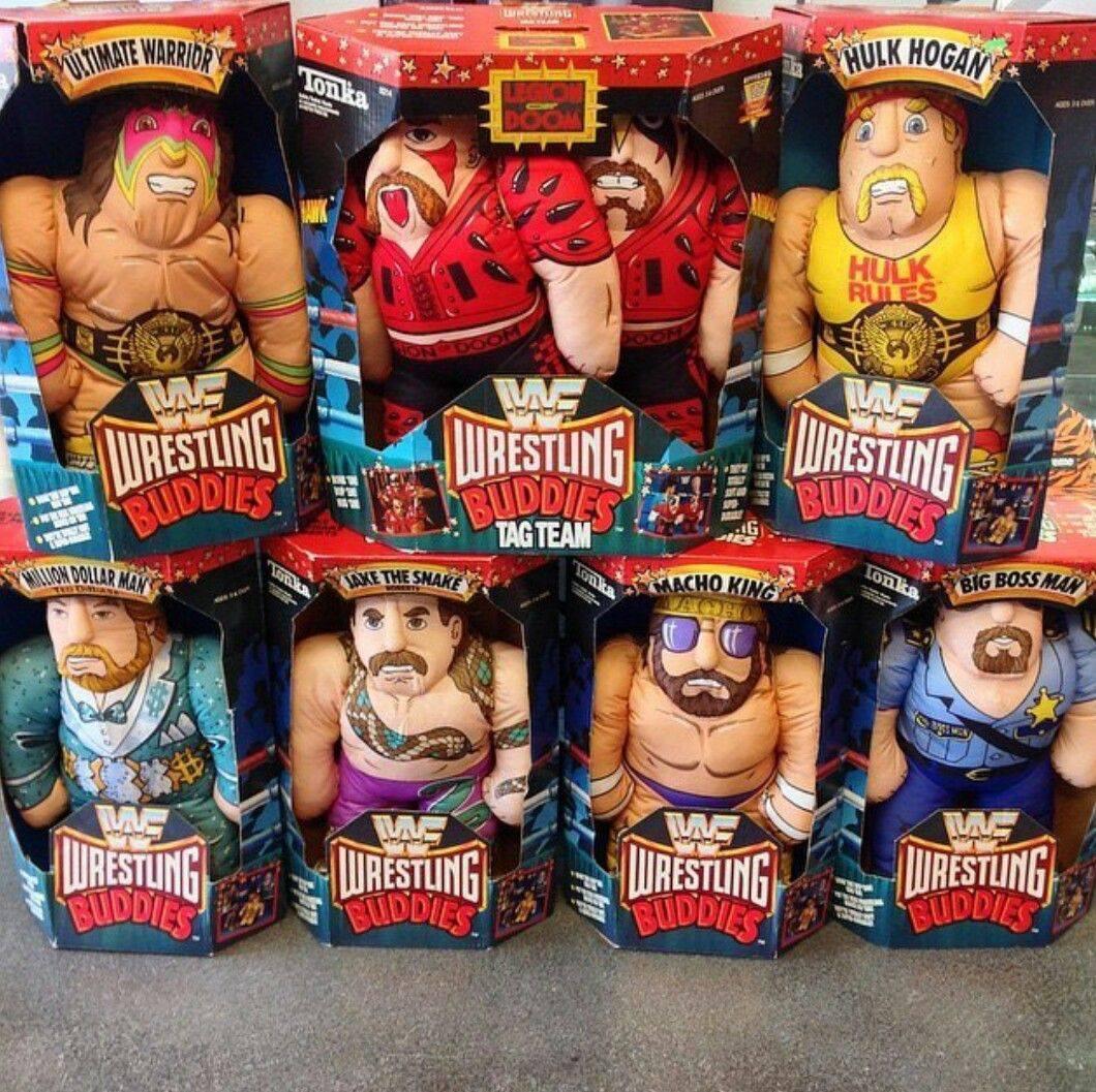 WWF Wrestling Buddies | Nostalgic Wrestling Photos