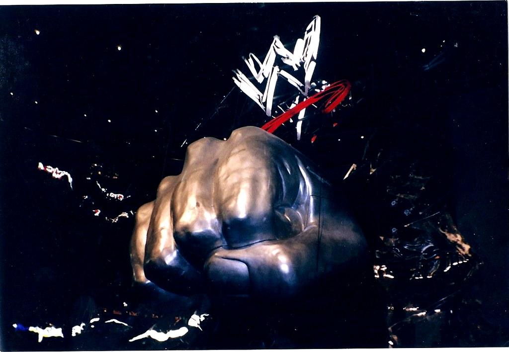 The SmackDown Fist | Nostalgic Wrestling Photos