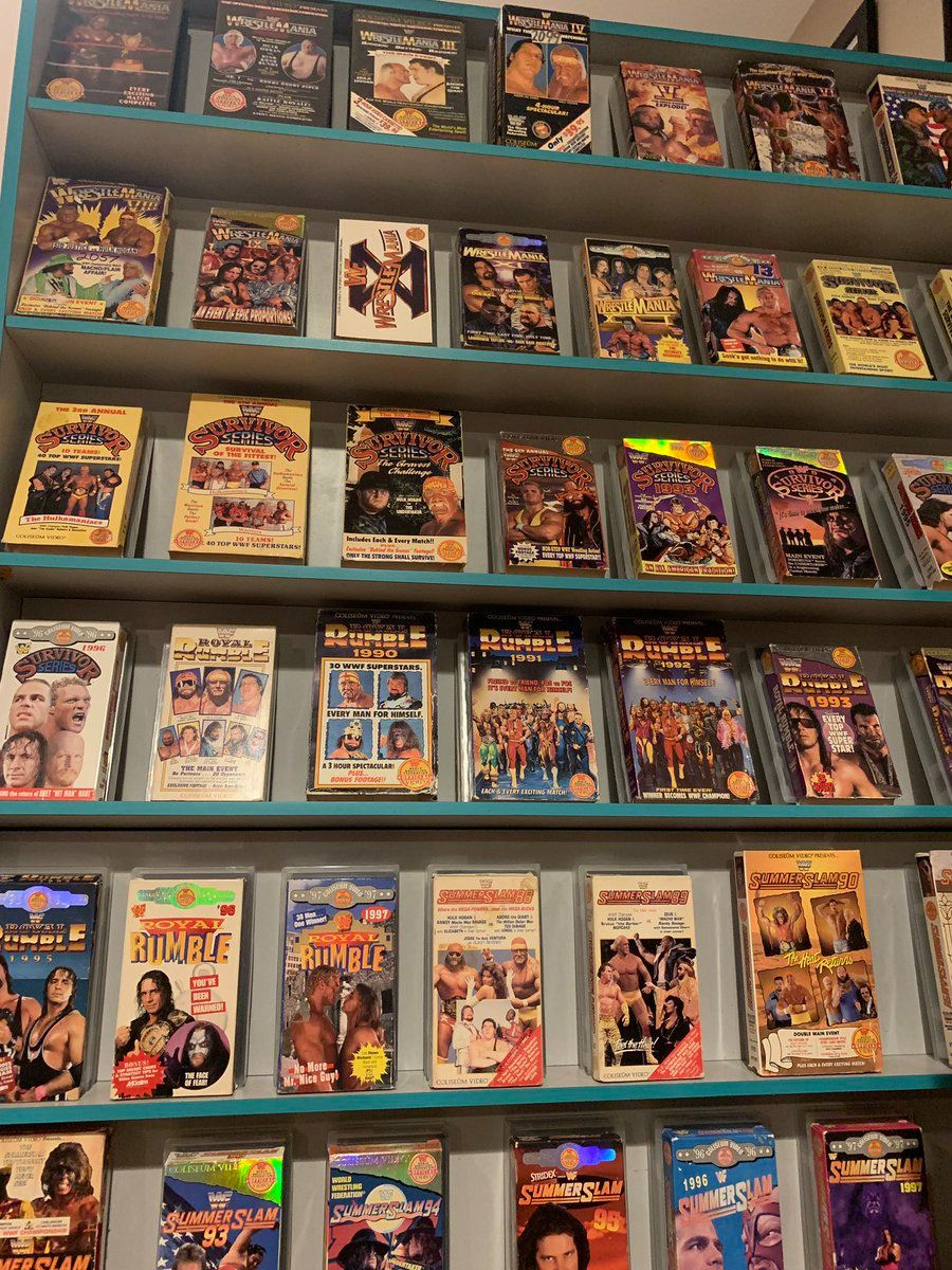 Renting Your Favorite Pay-Per-View's at Blockbuster | Nostalgic Wrestling Photos