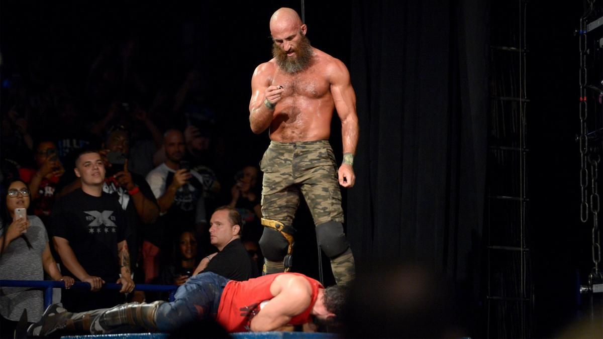 Ciampa removes Gargano's wedding ring at NXT TakeOver- Chicago II