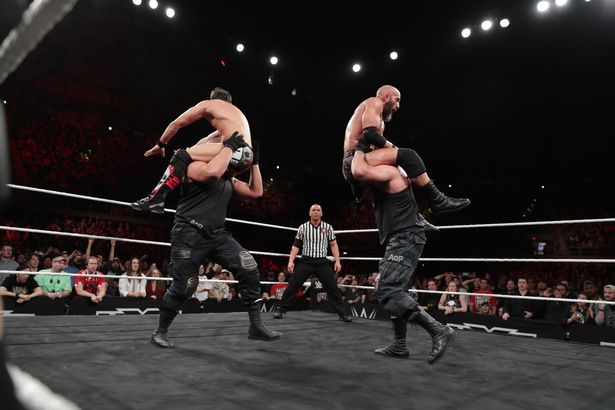 The Authors of Pain take DIY for a ride - NXT TakeOver- San Antonio